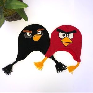 2 Angry Birds Winter Hats - NWOT